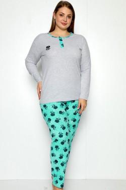 Kokvilnas pidžamas